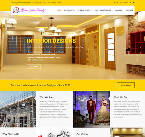 Website - Construction Company