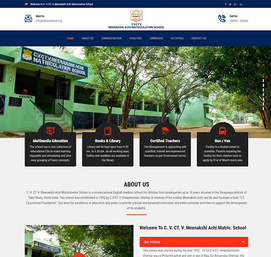 Website - School